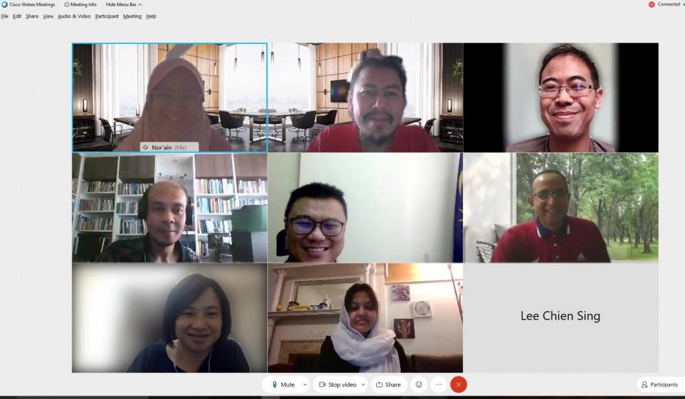 IEEE SMC Malaysia ExComm Meeting, 4/2020
